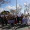 Más de 200 personas se han manifestado en Jumilla por la igualdad en el 8M