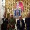 Los hermanos del Cristo de la Vida viajaron a Sevilla para recoger su nuevo estandarte