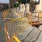 En marcha las obras de renovación de las aceras del tramo de avenida de Murcia entre las calles Progreso y Arsenal