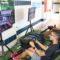 Centenares de jóvenes disfrutaron de los videojuegos en la Game Party