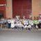 Cien personas marchan junto al Santo Costado en la cuarta edición de la Marcha Nocturna Solidaria