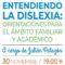 El sábado va a tener lugar una charla para entender la dislexia