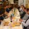 Tres candidatos del PP al Congreso y al Senado se reúnen en Jumilla con empresarios del sector agroalimentario
