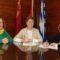 El Ayuntamiento ha firmado los convenios con la junta local de la AECC y la de los tambores