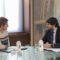 Los caminos rurales centran la reunión entre López Miras y la alcaldesa