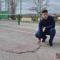 El concejal popular, Aitor Jiménez, pide el arreglo de las pistas de tenis