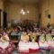 Las 24 aspirantes a Reina de la Huerta Infantil llenaron de color Jumilla
