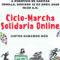 Jesús Montoya anima a todos a inscribirse y colaborar en la ciclo marcha solidaria online de este domingo a beneficio de Caritas