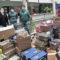 Hinneni entrega más de 700 kilos de productos a Servicios Sociales
