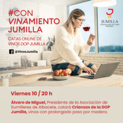 El sumiller Álvaro de Miguel ofrece la nueva sesión de cata online de la DOP Jumilla