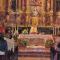 Jumilla celebra el Corpus Christi con una simbólica procesión en el atrio de la iglesia de Santiago