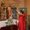 San Roque y San Nicolás de Bari ya lucen en el altar de la Iglesia de Santiago