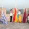 El izado de las banderas en el Castillo abre las 'fiestas'