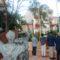 El FNF izó su bandera junto a las enseñas de las 17 Comunidades Autonómas de España, en el jardín de la Glorieta