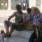 El corro espartero Espartedeti se reúne en la Plaza de Arriba en su 30 encuentro mensual