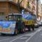 Más de un centenar de coches protestan contra las macrogranjas