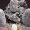 El Museo de Etnografía muestra un nacimiento hecho con materiales de hace 100 millones de años