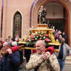 La misa de once de Santiago será este domingo en honor a San Antón