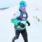 Tres atletas de los Chotas participaron en la décima Snow Running celebrada en Sierra Nevada