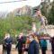 El Cristo de la Columna bendice a los jumillanos desde Santa Ana