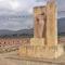 El monumento a Adra mejora su entorno con las obras de mejora realizadas