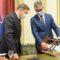 El ministro de Agricultura recibe al presidente del Consejo Regulador