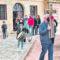 La Guarda del Cristo Yacente de Santa Ana realiza un acto de oración y bendice a Jumilla
