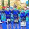 Cinco miembros del Club Triatlón Jumilla, en el Campeonato Regional de Media Distancia de Lorca