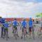 La más pequeña 'marea azul' de ciclistas se presentan ante otras escuelas en Molina de Segura