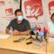 El eurodiputado de IU Manu Pineda trasladará al parlamento el problema de las macrogranjas