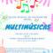 Hasta mañana hay de plazo para inscribirse en el Taller Musical de Integración Social