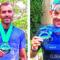 Guillermo Bernal y Fran Guirao logran terminar su primer Ironman