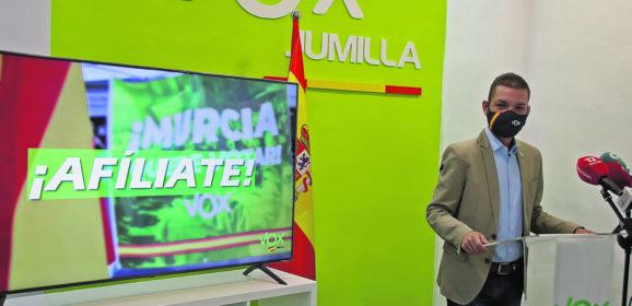 """Vox lanza la campaña """"La recuperación de Jumilla ha comenzado"""" para atraer afiliados"""