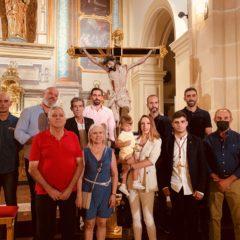 La Hermandad del Santísimo Cristo de la Salud acoge a nuevos hermanos
