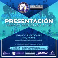 La Escuela de Fútbol Sala se viste de corto este sábado para presentar a todos sus equipos 2021/22