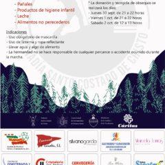 El 2 de octubre se llevará a cabo la Marcha Nocturna Solidaria del Santo Costado