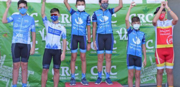 Los ciclistas de la escuela suben a la mayoría de pódiums en Cartagena