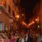Cientos de fieles participaron y también presenciaron la procesión de la Patrona