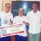 La organización del Torneo 3×3 dona 200 euros a Aspajunide