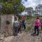 Un total de ocho aljibes visitaron los excursionistas de la 'Ruta de las Tendidas del Esparto'