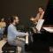 Quince alumnos de piano recibieron el magisterio de Jesús María Gómez
