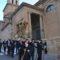 San Juan y el Cristo de la Misericordia esperan en el Pósito para procesionar