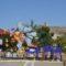 Con la plantá y la cremà de una falla, Elda promocionó una de sus fiestas principales en Jumilla