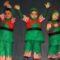 El colegio Cruz de Piedra repasó las músicas del mundo en sus funciones de Navidad