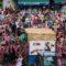 La Gran Cabalgata de Vino vuelve a inundar Jumilla con ríos de vino tinto