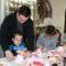 Los pequeños elaboraron 'dulces del amor' por San Valentín