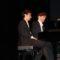 Arturo Ruiz y Vicente Prieto, de Iberpianoduo, ofrecen un magistral concierto en el Vico