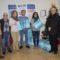 La empresa Aguas de Jumilla hace entrega de 25 lotes de productos navideños a Cáritas