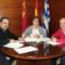 Firmado el convenio con la Ruta del Vino por 12.000 euros