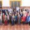 Ex alumnos del Arzobispo Lozano se reúnen y visitan el Ayuntamiento